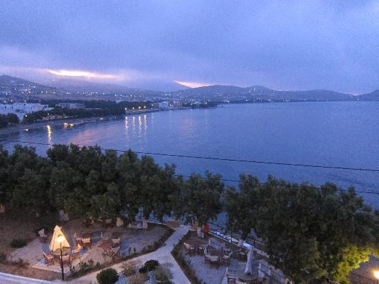 Agali Bay Hotel: the colours on my balcony