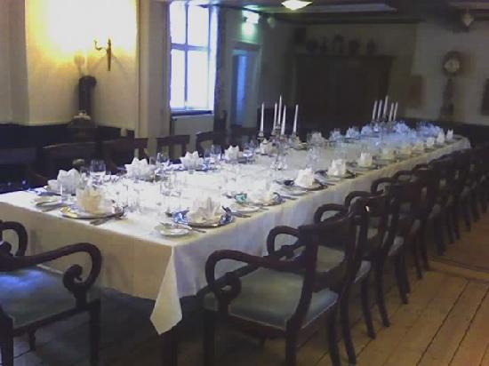 Hotel Kirstine: Una sala del Ristorante