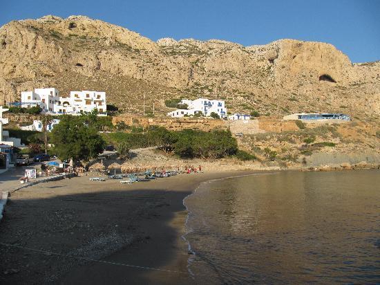 Hotel Alkioni: Location of the hotel