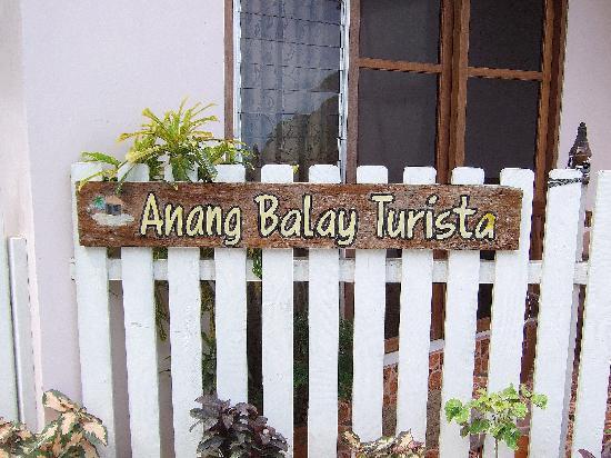 Anang Balay Turista: Room