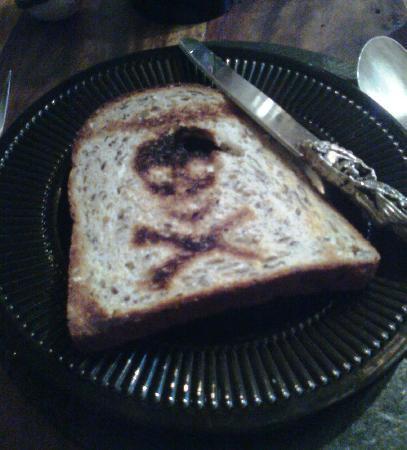 Bats and Broomsticks: Breakfast toast!