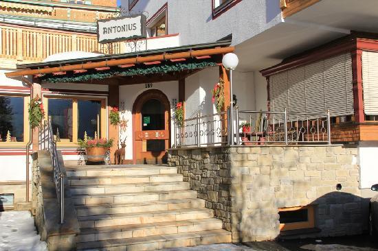 Antonius Hotel: Eingang Hotel Antonius.