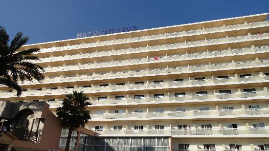 Hotel Helios Benidorm: L'hôtel Helios - La Vue