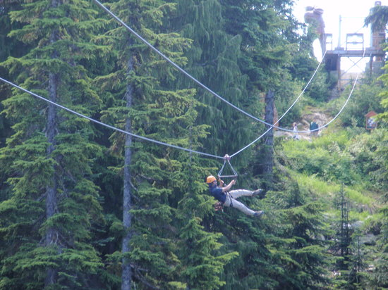 ‪Grouse Mountain Ziplines‬