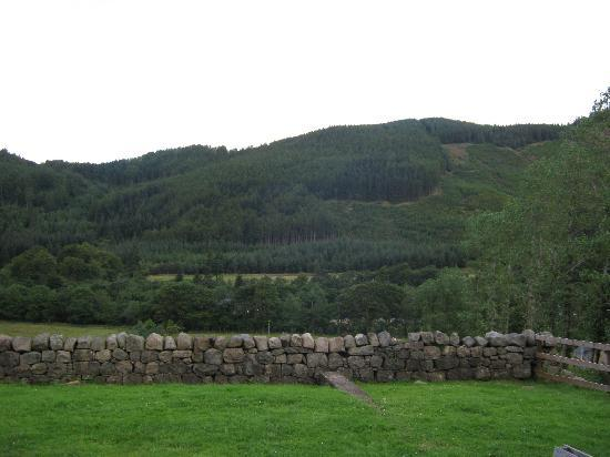 Ben Nevis Inn and Bunkhouse: The view from the digs.