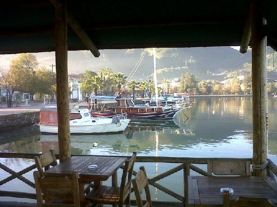 Fethiye, Turkey: hello cafe, early morning