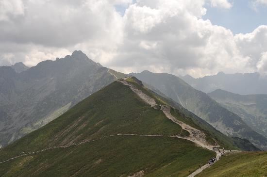 Poronin, Polandia: fantastische bergen