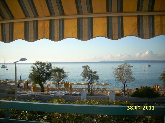 Hotel Mediterranee : Blick vom Balkon