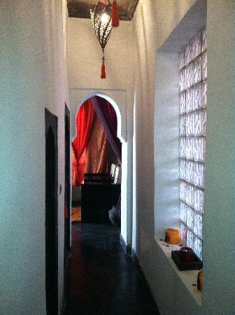 Les Secrets Hammam&spa : Couloir allant a la salle de repos