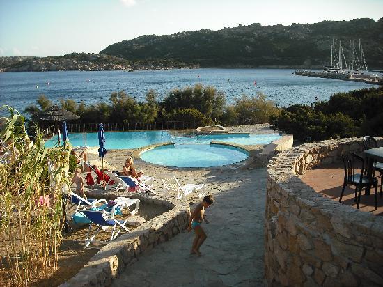 Hotel Cala Lunga: piscine