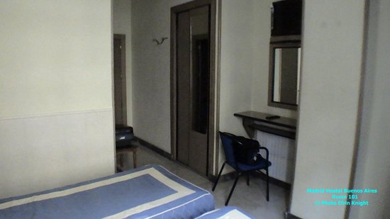 Madrid ~ Hostal Buenos Aires ~ room 101