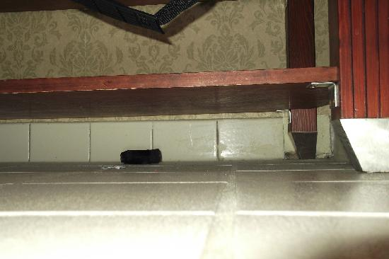 Best Western Plus Historic Area Inn : Another under the shelf in the bathroom picture.