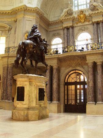 Elegant lobby of Bode Museum