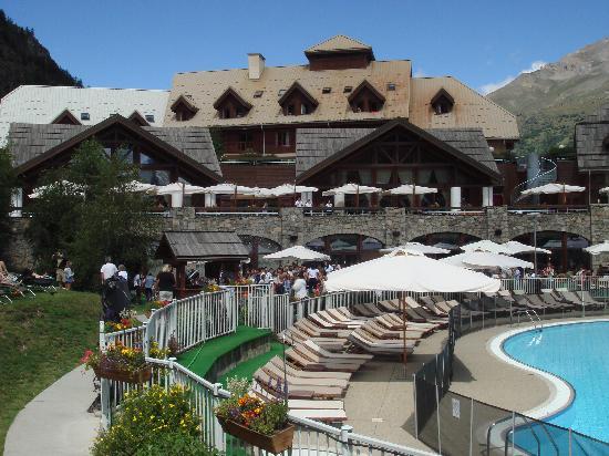 Club Med Serre-Chevalier: La terrasse