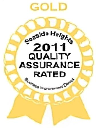 Bay Breeze Motel: GOLD Quality Assurance 2011 from Seaside Heights Tourisum