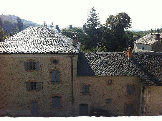Auberge de Catalane : view from our window