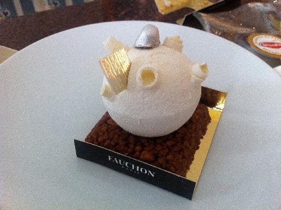 Fauchon : My cake.
