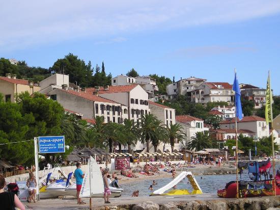 Hotel Podgorka: Hotel view from Aqua sport centre