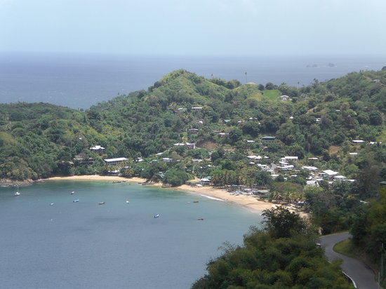 Castara Bay Tobago Trinidad And Tobago Address Beach