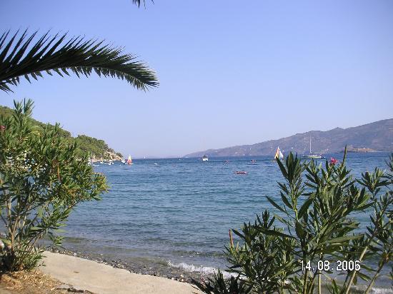 New Aegli Resort Hotel: View of the Bay