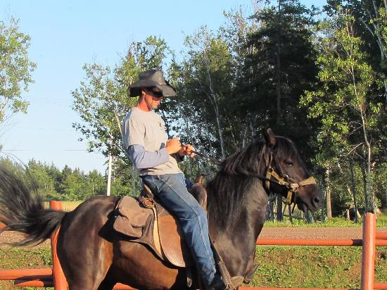 "Lakeside Circle T Trail Rides: The ""TRUE COWBOY"" of PEI!!!!"