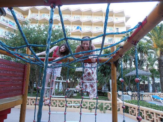Globales Palmanova: one of the play areas