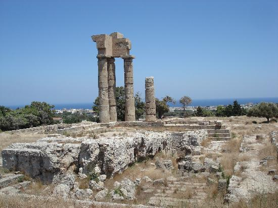 The Acropolis of Rhodes: Temple of Apollo