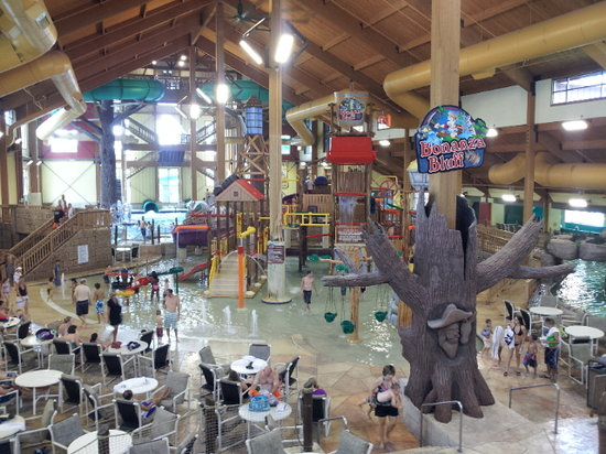 Wilderness Territory: One of the awesome indoor water parks