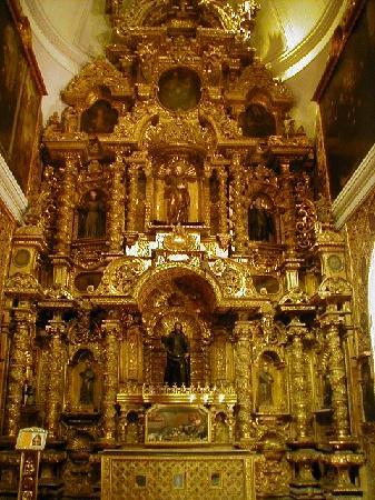 San Pedro Church (Iglesia de San Pedro): Retablo de San Francisco Javier