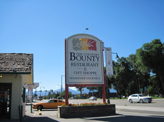 Country Bounty Restaurant and Gift Shoppe: Country Bounty Restaurant in Salida, CO