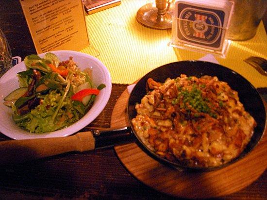 Paul Stube : Delicious plate that resembles italian gnocchi