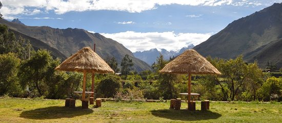 Tunupa Lodge : View from our garden