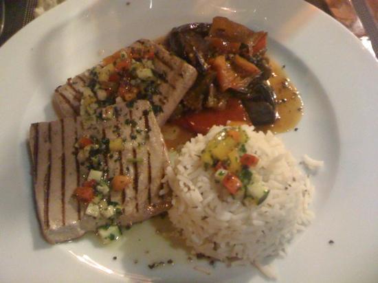 Restaurant Saint Joseph : thon bleu ratatouille