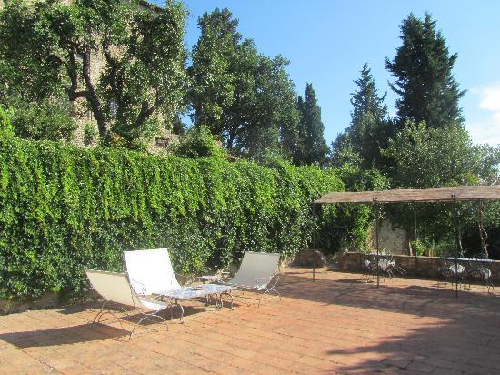 Castello di Bibbione: BBQ area