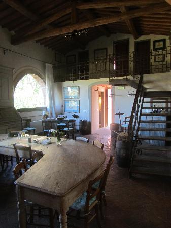 Castello di Bibbione: breakfast room