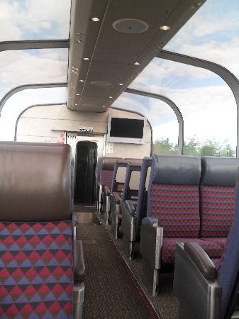 VIA Rail Canada: la voiture panoramique