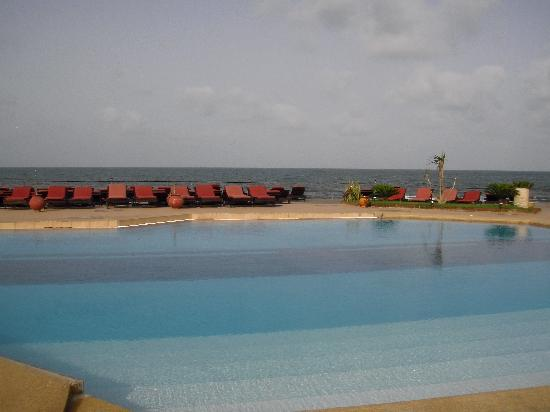 Lookea Royal Baobab: piscine et mer en même temps