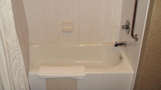 Riverwind Hotel: Shower/bathtub