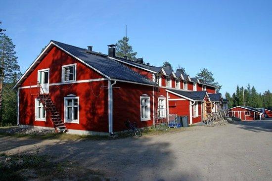 Pyhatunturi, Finnland: Kairosmaja reception and restaurant building