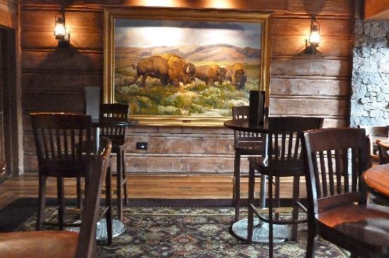 Buffalos: View of interior area of Buffalo Bar