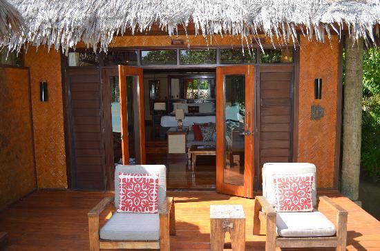 Likuliku Lagoon Resort: our bure