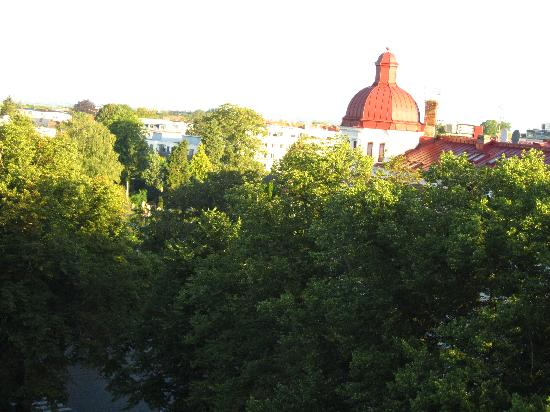Grand Hotel Lund: Morning view from our room