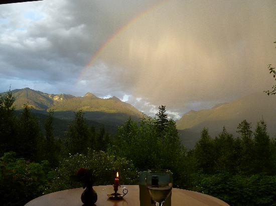 Wing Creek Resort: Magic view from the cottages