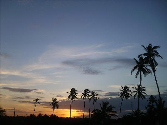 Baia da Traicao, PB: Couché du soleil....