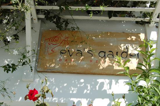 Eva's Garden: insegna