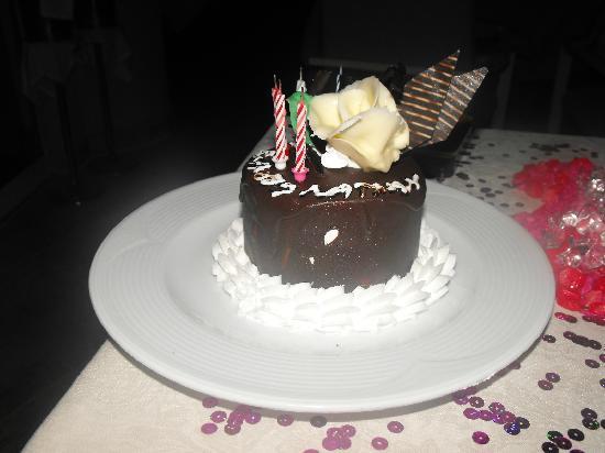 Liberty Hotels Lara : Great birthday cake!