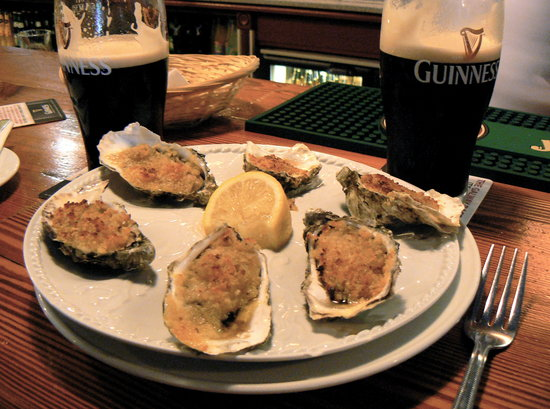 Morans Oyster Cottage : Oysters!