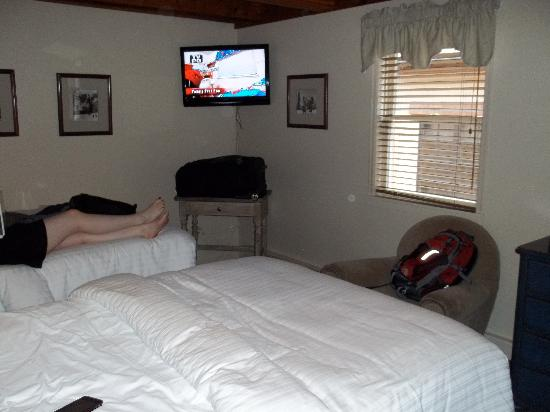 Hotel Durant: Standard room with two double beds
