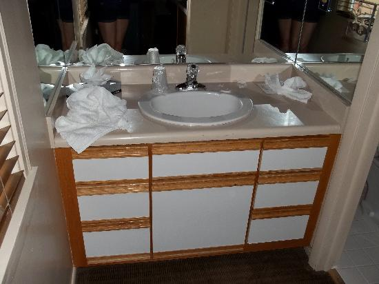 Hotel Durant: Sink area in the room