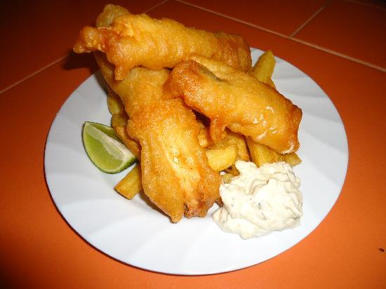 Big Ralph's Hostal & Restaurant : BEER BATTER FISH